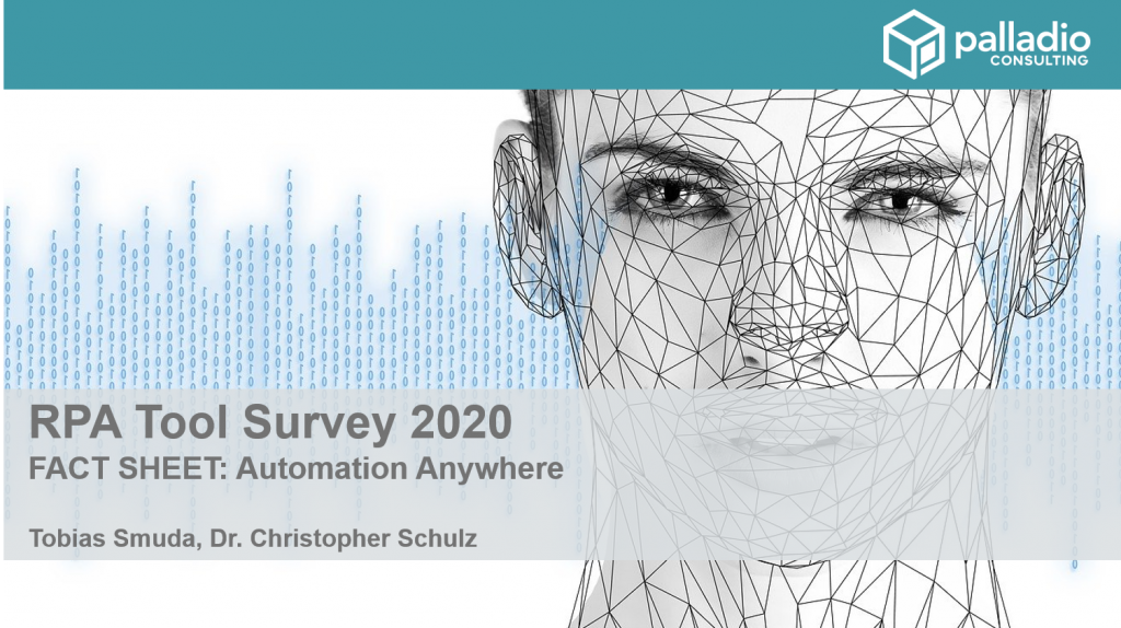 Automation Anywhere Fact Sheet - RPA Tool Survey 2020