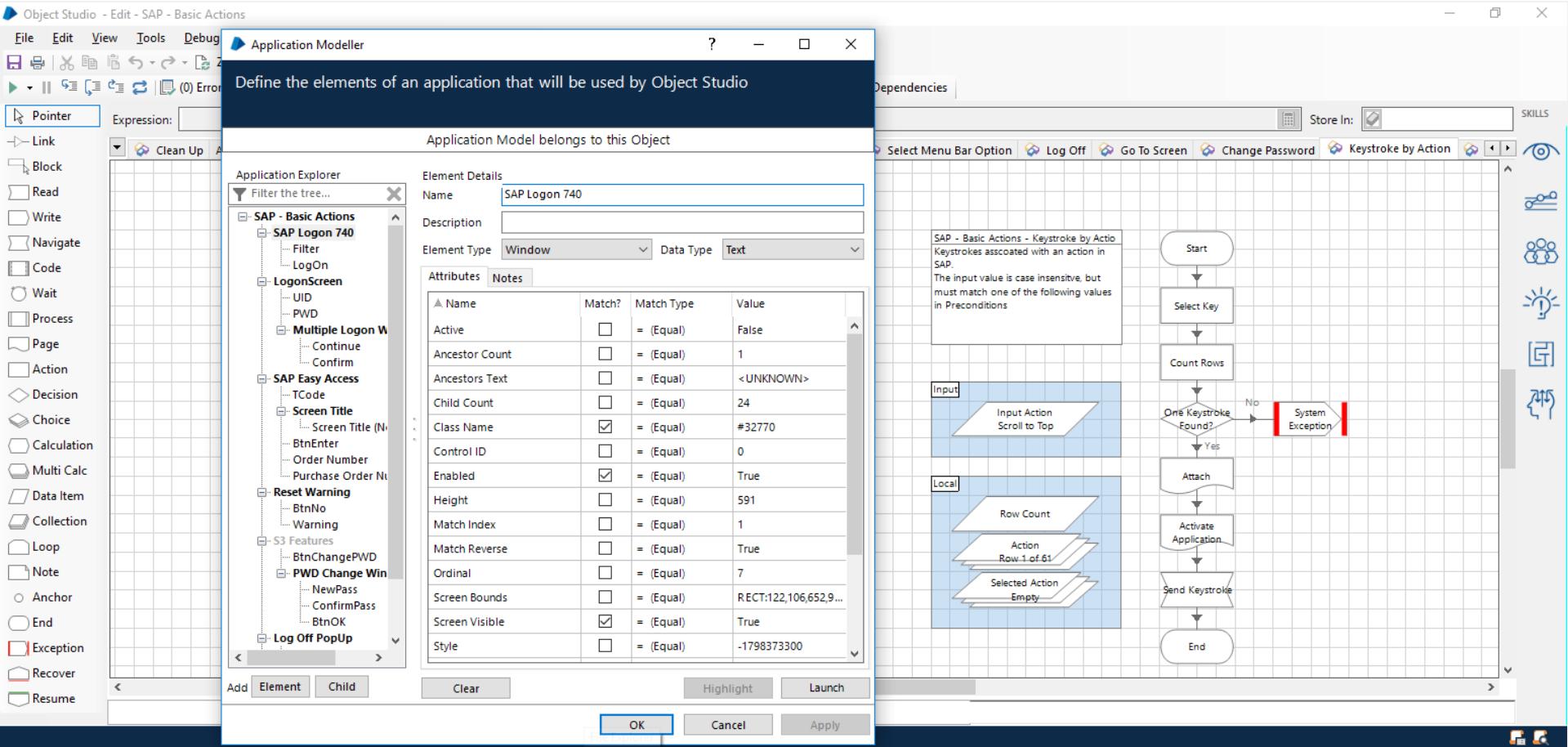 Blue Prism Geschäftsobjekt und Anwendungsmodell entwickeln