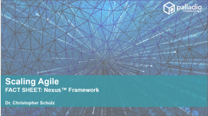 Nexus Framework - Fact Sheet